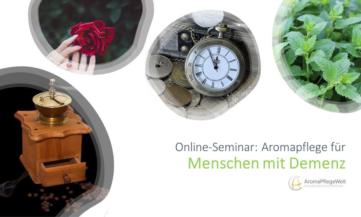 Online-Seminar: Aromapflege für Menschen mit Demenz