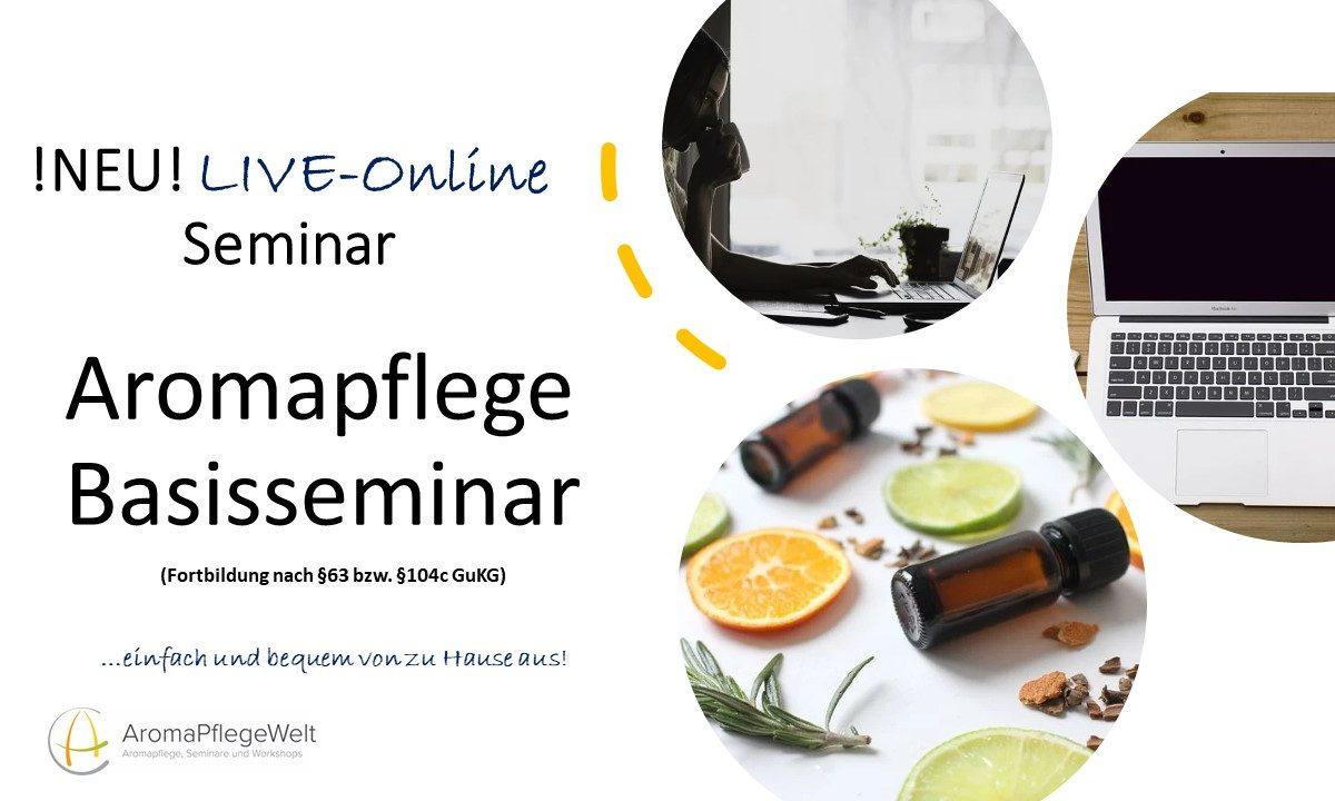 LIVE-Online-Seminar:  Aromapflege Basisseminar