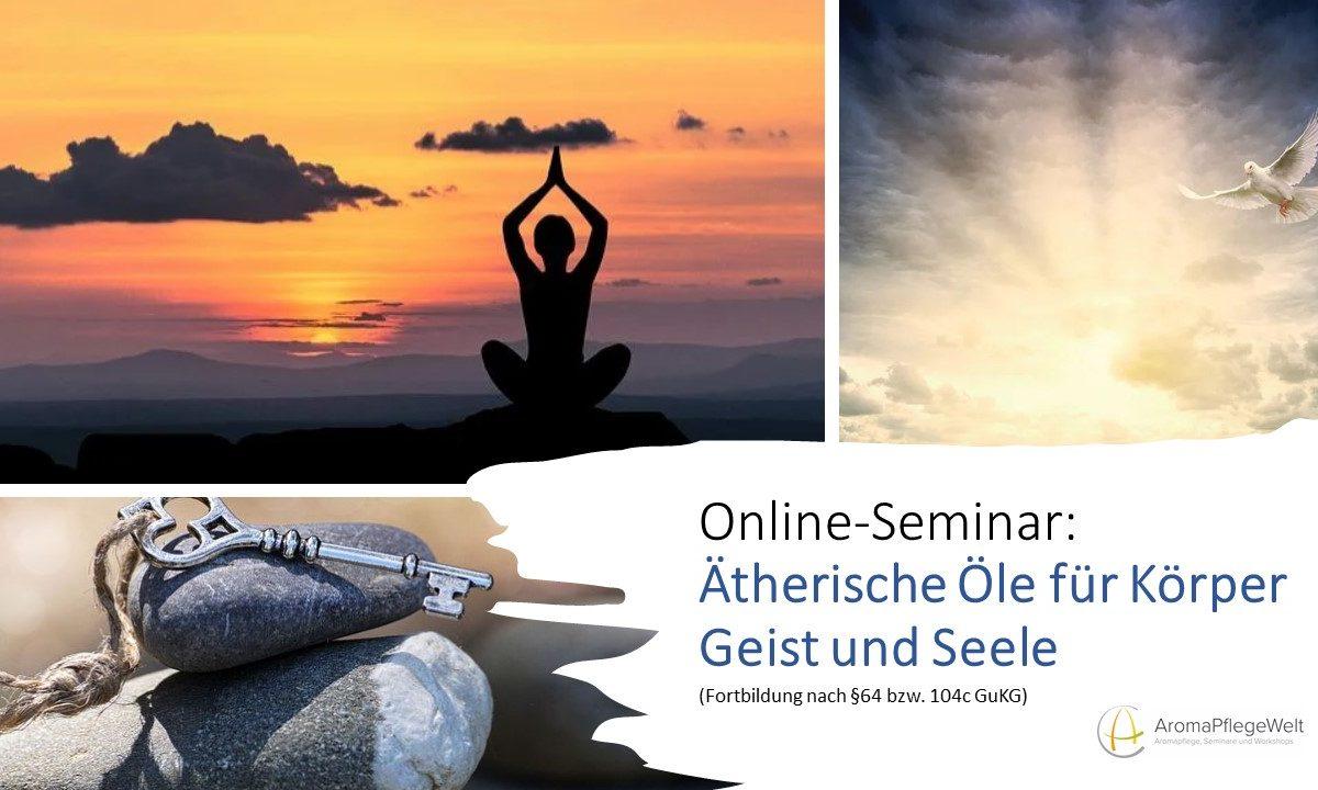 Online-Seminar: Ätherische Öle für Körper, Geist und Seele